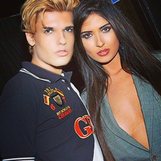 Celso Santebanes e Jennifer Pamplona (Foto: Reprodução/Instagram)