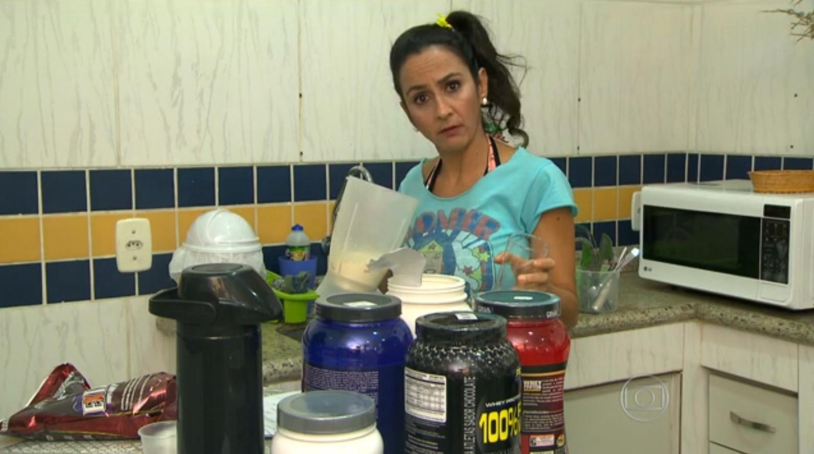 Maria Menezes no Teste do Inmetro (Foto: divulgação)