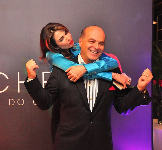Luciana Gimenez e Marcelo de Carvalho (Foto: Divulgação)