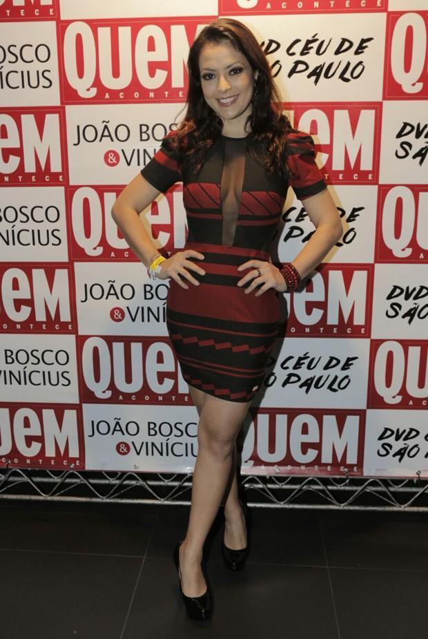A cantora Li Martins, ex-Rouge (Foto: Ricardo Cardoso/Ed. Globo)
