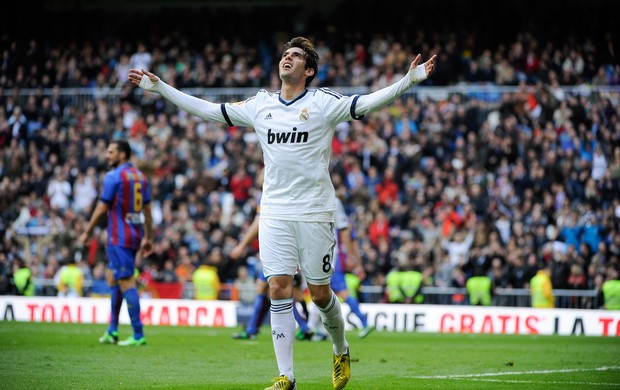 Kaká gol Real Madrid (Foto: AFP)