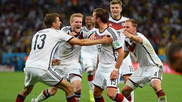 Autor do gol que garantiu a vitória, Götze também foi mencionado no Facebook (foto: Reprodução/Fifa)