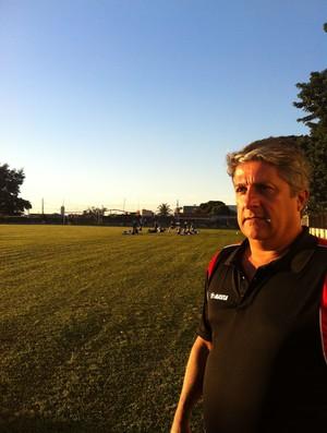 Luiz Alberto Medina, técnico do clube (Foto: Luiz Vieira/GLOBOESPORTE.COM)
