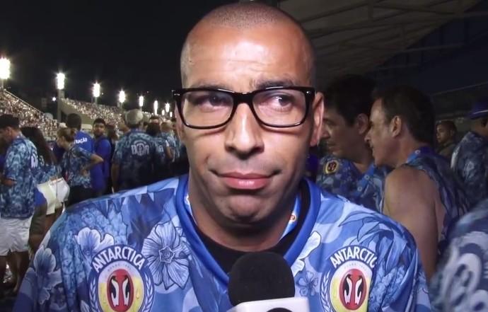 Emerson Sheik no Sambódromo do Rio de Janeiro (Foto: Thiago Correia)