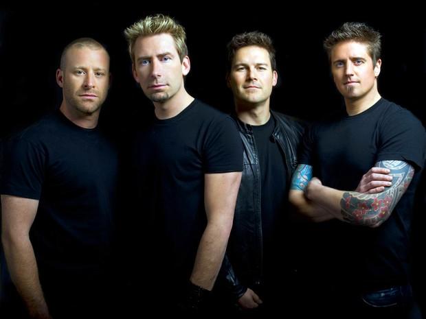 Os integrantes da banda canadense Nickelback, que foram confirmados como uma das atrações do Rock in Rio no dia 20 de setembro (Foto: Richard Beland/Divulgação)