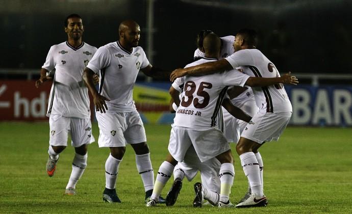 Scarpa Fluminense Madureira Gol (Foto: Nelson Perez /Fluminense FC)