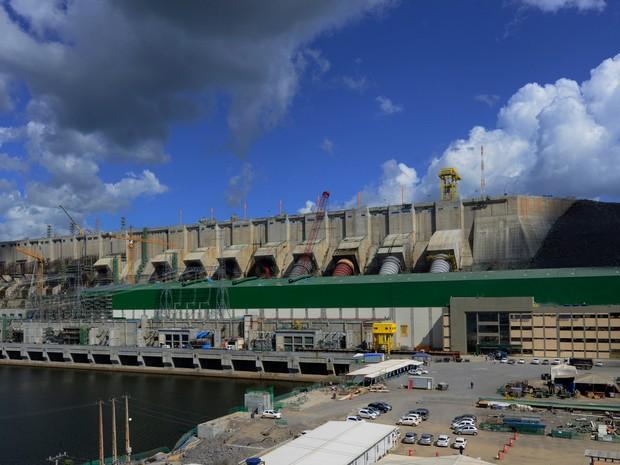 Circuito de geração de Belo Monte (Foto: Betto Silva / Norte Energia)