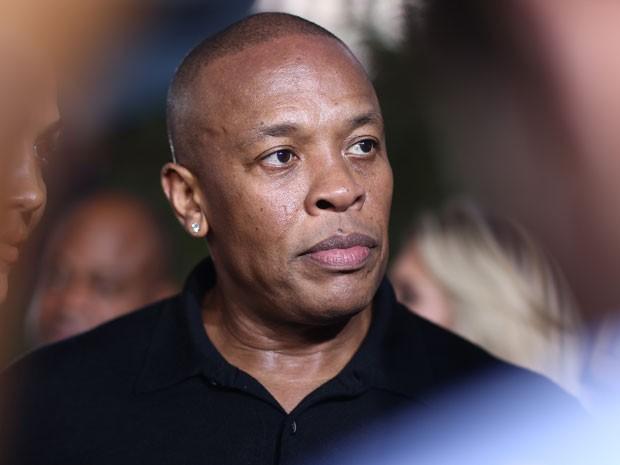 Dr. Dre na première em Los Angeles de 'Straight outta Compton', no Microsoft Theater, em 1º de agosto de 2015 (Foto: John Salangsang/Invision/AP)
