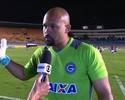 Márcio agradece à torcida do Goiás após vitória em sua estreia no Verdão