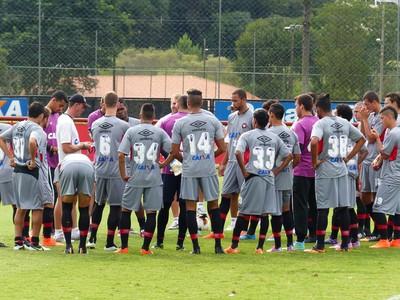 Atlético-PR treino (Foto: Monique Silva)