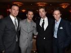 Channing Tatum e Robert Pattinson vão a jantar beneficente nos EUA
