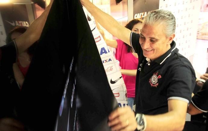 Treino Corinthians Tite (Foto: Marcos Ribolli)