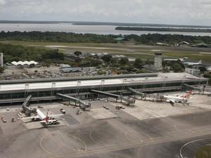 Pará aeroporto Belém (Foto: Oswaldo Forte/ Amazônia Jornal)