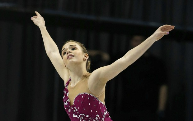 Patinação Isadora Williams no Mundial do Canadá (Foto: EFE)