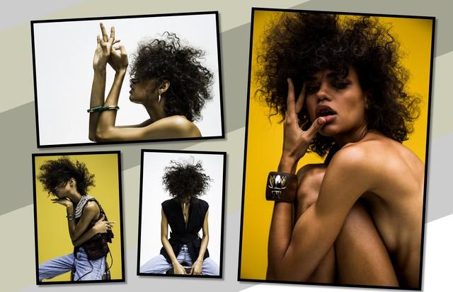Vera Cortez Montagem (Foto: Arte Vogue Online)