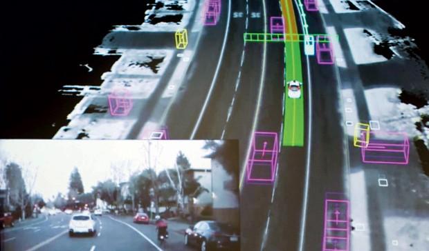 Tecnologia, Carros, Transporte, Google, Sensores (Foto: Reuters)