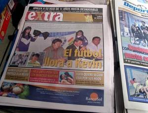 jornais Oruro bolívia caso morte do orcedor do San José corinthians libertadores (Foto: Diego Ribeiro)