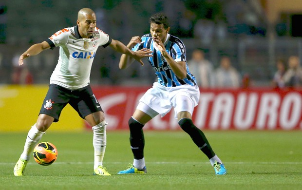 Emerson Corinthians e Grêmio (Foto: Wagner Carmo / Vipcomm)