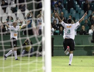 Cianorte x Coritiba, no Campeonato Paranaense (Foto: Divulgação/site oficial do Coritiba Foot Ball Club)