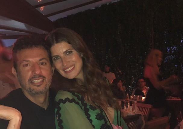 Guy Oseary e Michelle Alves (Foto: Reprodução/Instagram Stories)