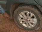 Equipe de TV tem pneus esvaziados em ato de caminhoneiros na Bahia