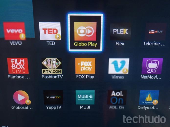 "Procure pelo app ""Globo Play"" e clique sobre ele (Foto: Lucas Mendes/TechTudo) (Foto: Lucas Mendes)"