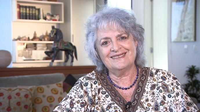 Coreógrafa Lia Robatto lembra da efeverscência das escolas de artes da Ufba (Foto: TV Bahia)