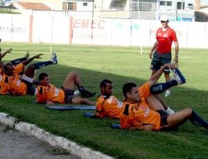 treino crb (Foto: Divulgação/Site Oficial CRB)