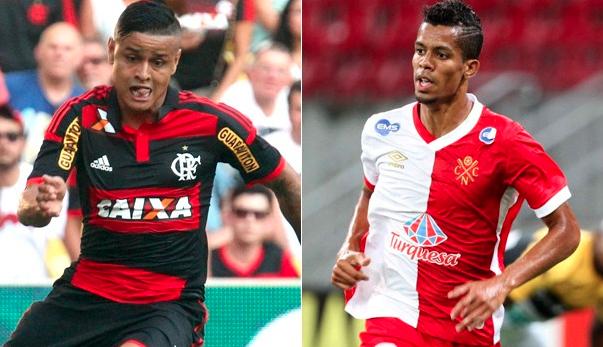 Flamengo e Nático se enfrentam pela Copa do Brasil (Foto: (Foto: Reprodução GE))