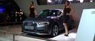 Audi  foca  em novo A3  (Louise Calandrino/G1)