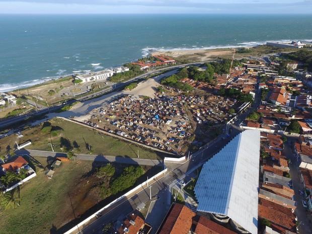 OCUPAÇÃO ZPA (Foto: Silvio Bezerra)