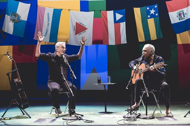 Caetano e Gilberto Gil  (Foto: Instagram / Reprodução)