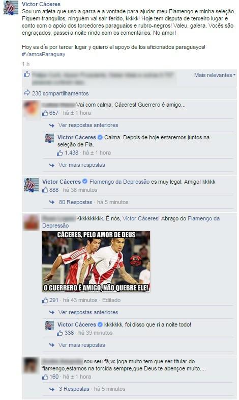 Cárceres Guerrero - comentários