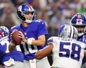 Eli Manning supera calouro, e Giants batem Cowboys; Seattle vence Miami