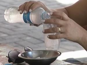 Umidade do ar chegou a 15% na região de Lins. Clima de deserto. (Foto: reprodução/TV Tem)