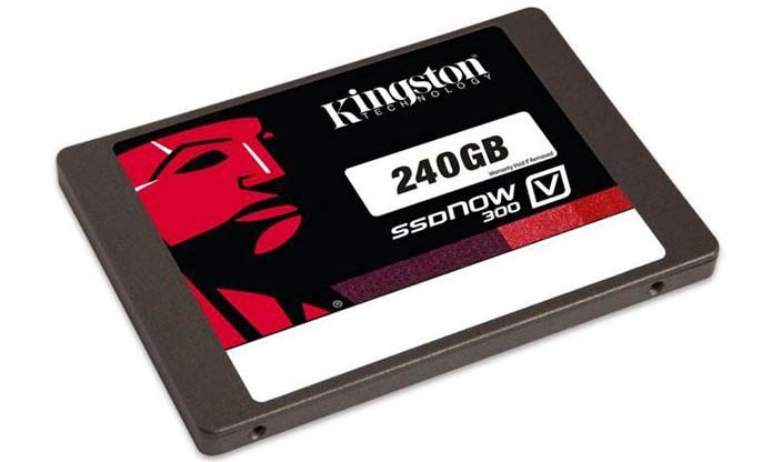 SSD da Kingston é leve e rápido (Foto: Divulgação) (Foto: SSD da Kingston é leve e rápido (Foto: Divulgação))