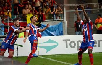 """Edigar Junio marca com estilo, dá título ao Bahia e faz a mais linda """"pintura"""""""
