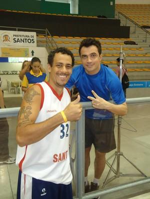 Sylvio Ortiz e Falcão (Foto: Arquivo pessoal)