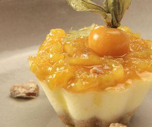 Cheesecake de frutas cítricas