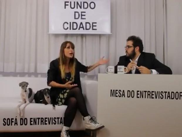 Bianca Jahara e o marido, Fernando Ceylão (Foto: Reprodução/Youtube)