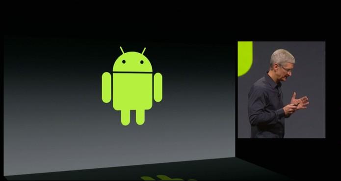 Apple e Android (Foto: Reprodução/ Apple)