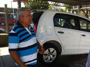 Dono de concessionária estima prejuízo de R$ 70 mil com furto durante test drive (Foto: Moisés Soares/TV TEM)