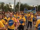 Evento religioso reúne fiéis na Região Central de Porto Alegre