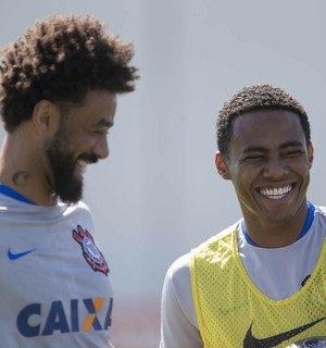 Cristian e Elias, Corinthians (Foto: Daniel Augusto Jr/Ag. Corinthians)