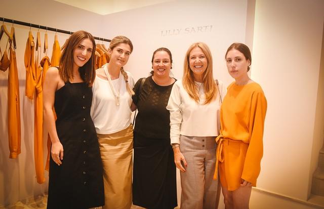 Lilly Sarti, Barbara Migliori, Silvia Rogar, Donata Meirelles e Renata Sarti (Foto: André Ligeiro)