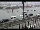 Furacão Irma toca o solo e provoca muito estrago em ilhas do Caribe