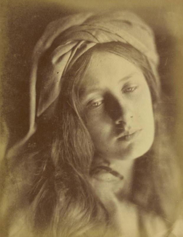 'Beatrice', de Julia Margaret Cameron. Imagem de 1866 (Foto: Cortesia/Getty's Open Content Program)