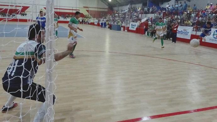 Camocim de São Félix x Maraial Abertura da Copa TV Asa Branca de Futsal (Foto: André Vinícius / GloboEsporte.com)