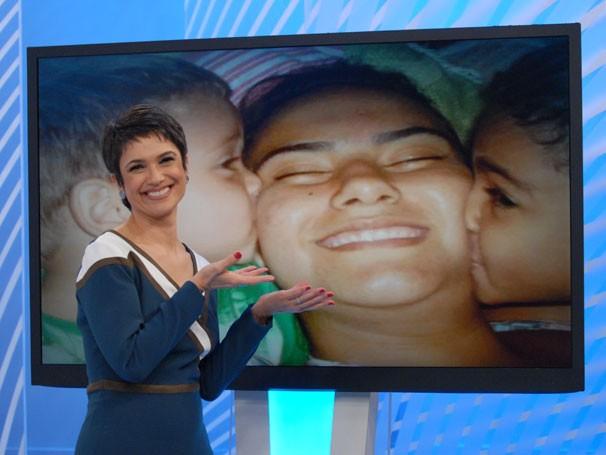 Globo Cidadania ganha cenário interativo com fotos enviadas por internautas através de rede social (Foto: TV Globo/Zé Paulo Cardeal)