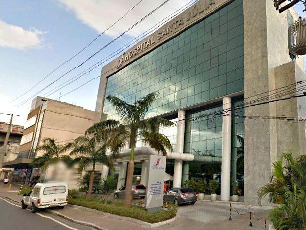 Prédio do Hospital Santa Júlia, em Manaus (Foto: Reprodução/Google Street View)